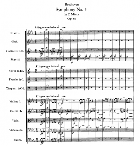 Partitura di Orchestra